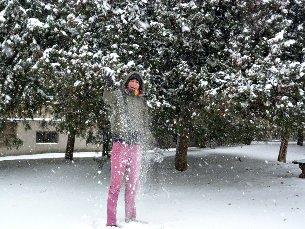 belgrado-sneeuw-gooien