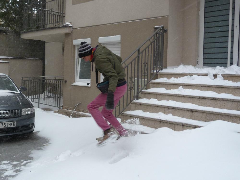 belgrado-sneeuw-springen